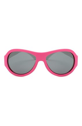 Детского солнцезащитные очки BABIATORS розового цвета, арт. BAB-094 | Фото 2
