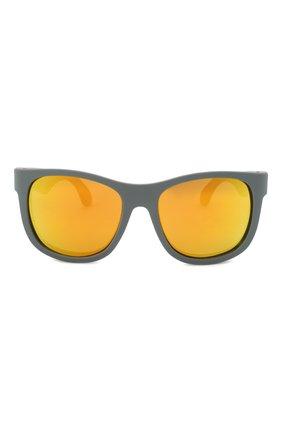 Детского солнцезащитные очки BABIATORS серого цвета, арт. BLU-009 | Фото 2
