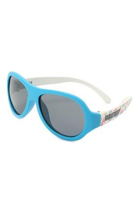 Детского солнцезащитные очки BABIATORS синего цвета, арт. BAB-096 | Фото 1