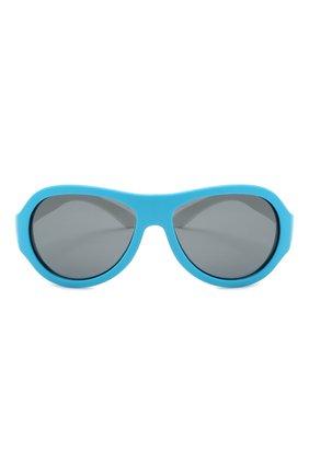 Детского солнцезащитные очки BABIATORS синего цвета, арт. BAB-096 | Фото 2