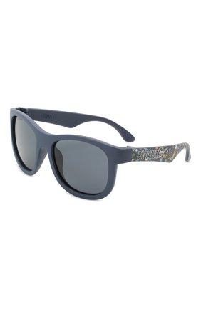 Детского солнцезащитные очки BABIATORS синего цвета, арт. LTD-043 | Фото 1