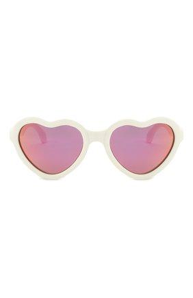 Детского солнцезащитные очки BABIATORS белого цвета, арт. BLU-016 | Фото 2