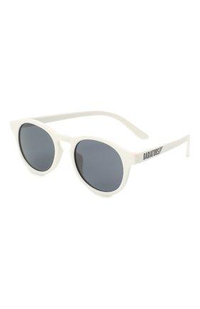 Детского солнцезащитные очки BABIATORS белого цвета, арт. LTD-035 | Фото 1