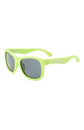 Детского солнцезащитные очки BABIATORS зеленого цвета, арт. NAV-002 | Фото 1