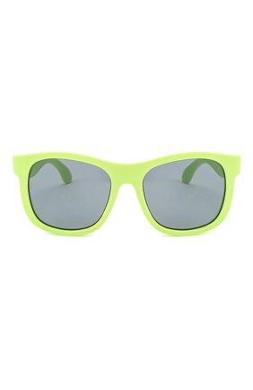Детского солнцезащитные очки BABIATORS зеленого цвета, арт. NAV-002 | Фото 2