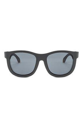 Детского солнцезащитные очки BABIATORS черного цвета, арт. NAV-009 | Фото 2