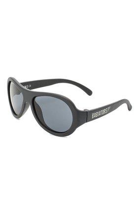 Детского солнцезащитные очки BABIATORS черного цвета, арт. BAB-001 | Фото 1