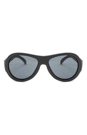 Детского солнцезащитные очки BABIATORS черного цвета, арт. BAB-001 | Фото 2