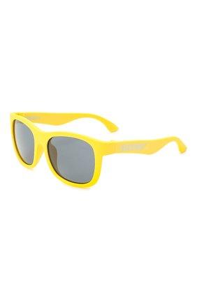Детского солнцезащитные очки BABIATORS желтого цвета, арт. NAV-018 | Фото 1