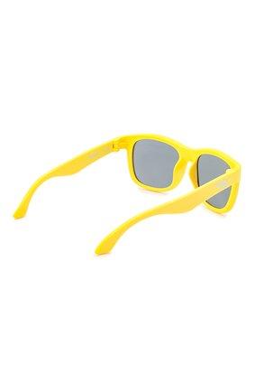 Детского солнцезащитные очки BABIATORS желтого цвета, арт. NAV-018 | Фото 3