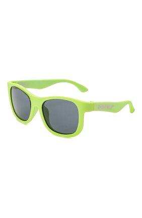Детского солнцезащитные очки BABIATORS желтого цвета, арт. NAV-002 | Фото 1