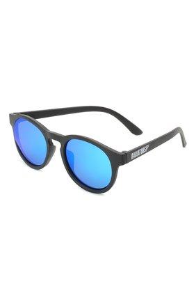 Детского солнцезащитные очки BABIATORS черного цвета, арт. BLU-002 | Фото 1