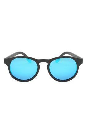 Детского солнцезащитные очки BABIATORS черного цвета, арт. BLU-002 | Фото 2