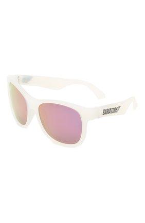 Детского солнцезащитные очки BABIATORS фиолетового цвета, арт. BLU-013 | Фото 1