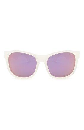 Детского солнцезащитные очки BABIATORS фиолетового цвета, арт. BLU-013 | Фото 2