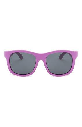 Детского солнцезащитные очки BABIATORS фиолетового цвета, арт. NAV-006 | Фото 2