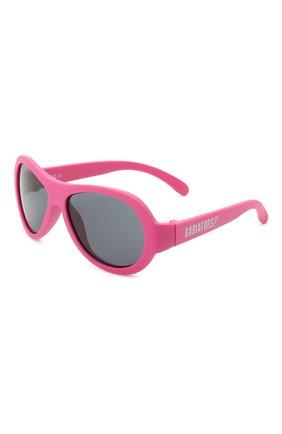 Детского солнцезащитные очки BABIATORS розового цвета, арт. BAB-047 | Фото 1