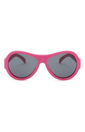 Детского солнцезащитные очки BABIATORS розового цвета, арт. BAB-047 | Фото 2