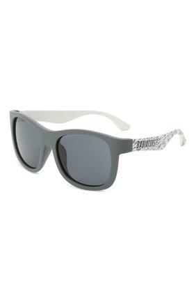 Детского солнцезащитные очки BABIATORS серого цвета, арт. LTD-042 | Фото 1