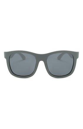 Детского солнцезащитные очки BABIATORS серого цвета, арт. LTD-042 | Фото 2