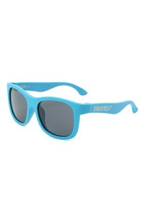 Детского солнцезащитные очки BABIATORS синего цвета, арт. NAV-004 | Фото 1