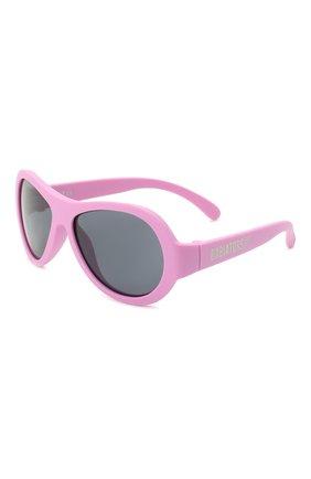 Детского солнцезащитные очки BABIATORS розового цвета, арт. BAB-008 | Фото 1