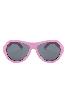 Детского солнцезащитные очки BABIATORS розового цвета, арт. BAB-008 | Фото 2