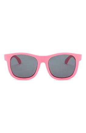 Детского солнцезащитные очки BABIATORS розового цвета, арт. NAV-008 | Фото 2