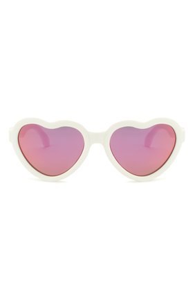 Детского солнцезащитные очки BABIATORS белого цвета, арт. BLU-015 | Фото 2