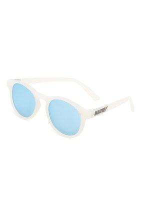 Детского солнцезащитные очки BABIATORS прозрачного цвета, арт. BLU-004 | Фото 1