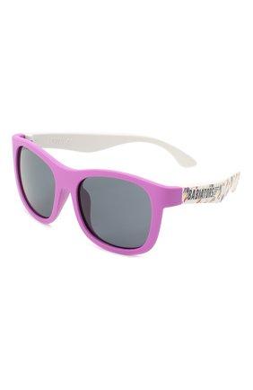 Детского солнцезащитные очки BABIATORS розового цвета, арт. LTD-048 | Фото 1