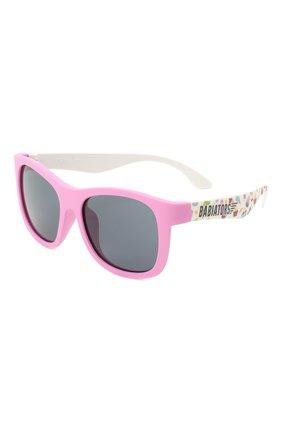 Детского солнцезащитные очки BABIATORS розового цвета, арт. LTD-046 | Фото 1