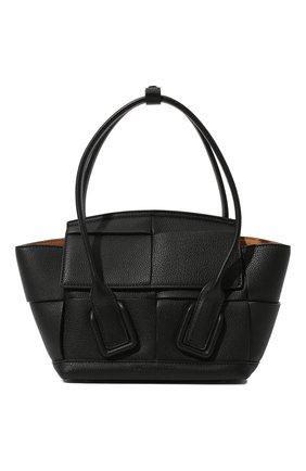 Женская сумка arco mini BOTTEGA VENETA черного цвета, арт. 600606/VA981   Фото 1