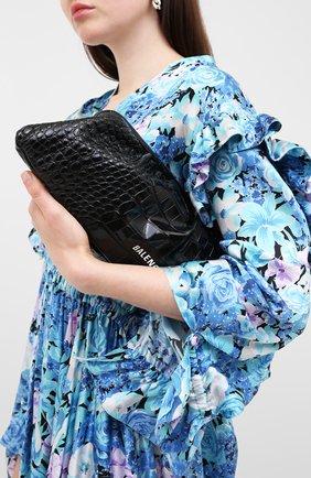 Женский клатч cloud xl BALENCIAGA черного цвета, арт. 618899/1R05M | Фото 2