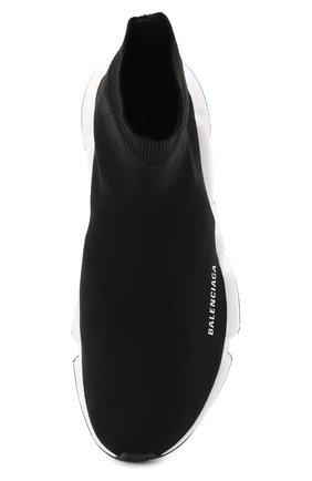 Мужские текстильные кроссовки speed BALENCIAGA черного цвета, арт. 587286/W1703 | Фото 5