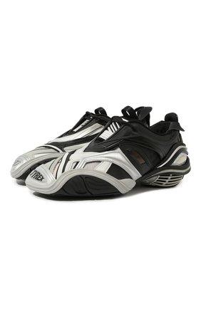 Комбинированные кроссовки Tyrex | Фото №1