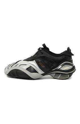 Мужские комбинированные кроссовки tyrex BALENCIAGA серебряного цвета, арт. 617535/W2CB1 | Фото 4