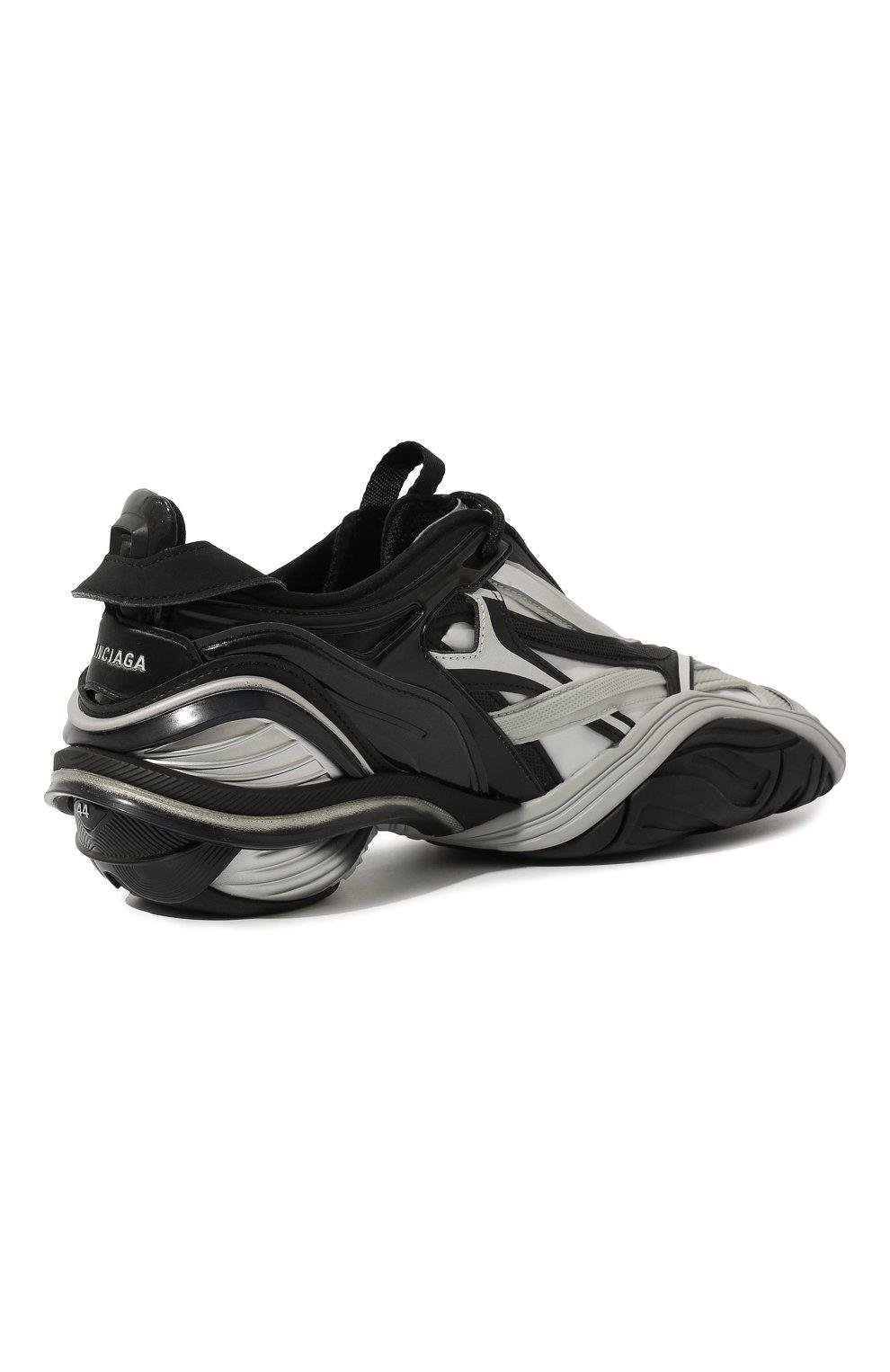 Мужские комбинированные кроссовки tyrex BALENCIAGA серебряного цвета, арт. 617535/W2CB1 | Фото 5