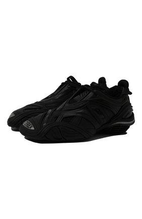 Мужские комбинированные кроссовки tyrex BALENCIAGA черного цвета, арт. 617535/W2TA1 | Фото 1 (Подошва: Массивная; Материал внутренний: Текстиль; Материал внешний: Текстиль; Стили: Гранж)