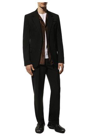 Мужские комбинированные кроссовки tyrex BALENCIAGA черного цвета, арт. 617535/W2TA1 | Фото 2 (Подошва: Массивная; Материал внутренний: Текстиль; Материал внешний: Текстиль; Стили: Гранж)