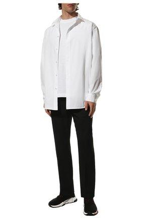 Мужские текстильные кроссовки speed BALENCIAGA черного цвета, арт. 621611/W05GE | Фото 2