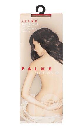 Женские капроновые гольфы shelina FALKE коричневого цвета, арт. 41726_   Фото 1