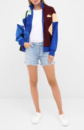 Женские джинсовые шорты CITIZENS OF HUMANITY голубого цвета, арт. 996-1172 | Фото 2