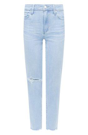Женские джинсы PAIGE голубого цвета, арт. 3757F46-7983 | Фото 1