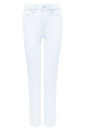 Женские джинсы PAIGE голубого цвета, арт. 5875E77-7609 | Фото 1