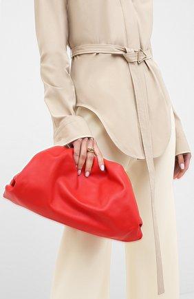 Женский клатч pouch BOTTEGA VENETA красного цвета, арт. 576227/VCP40 | Фото 2