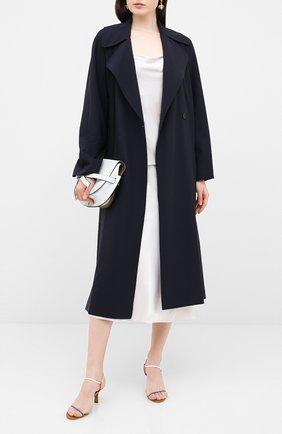 Женская юбка из шелка и вискозы DOROTHEE SCHUMACHER кремвого цвета, арт. 847904/SENSE 0F SHINE | Фото 2