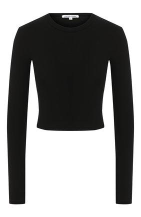 Женская лонгслив COTTON CITIZEN черного цвета, арт. W214564   Фото 1