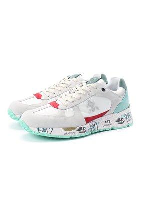 Мужские комбинированные кроссовки mase 3880 PREMIATA разноцветного цвета, арт. MASE/VAR3880A | Фото 1