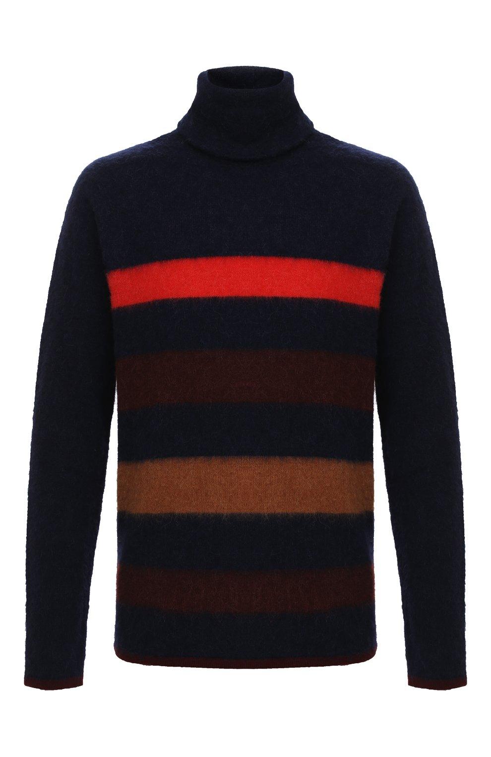 Мужской шерстяной свитер LANVIN темно-синего цвета, арт. RM-P00011-MV02-A20 | Фото 1